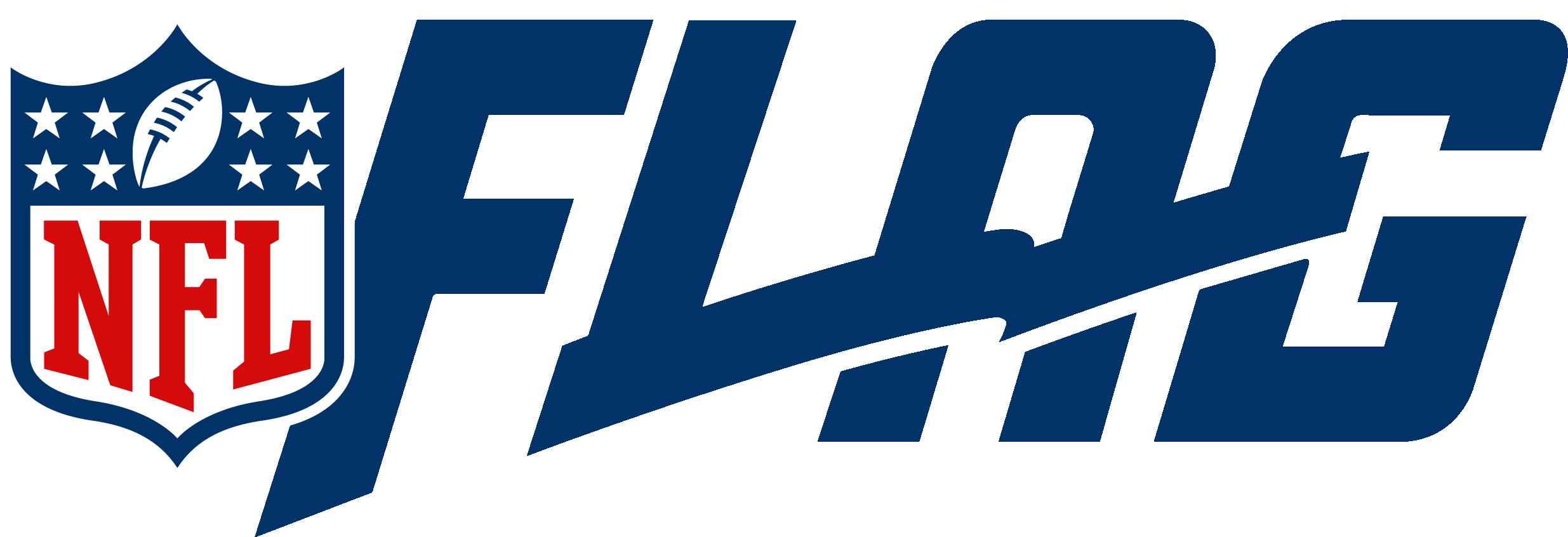 NFL Flag In School Logo